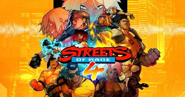 Affiche Streets of Rage 4 - giky.net
